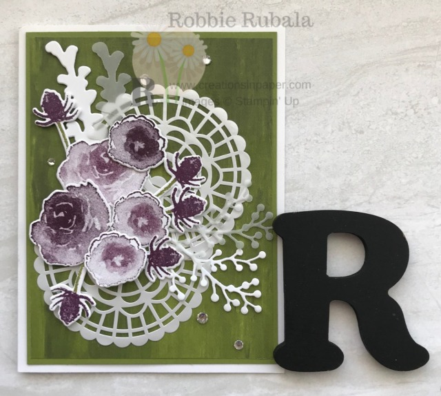 There are lots of sets which are great for All Occasion cards. Get the details for the First Frost All Occasion Idea creation.