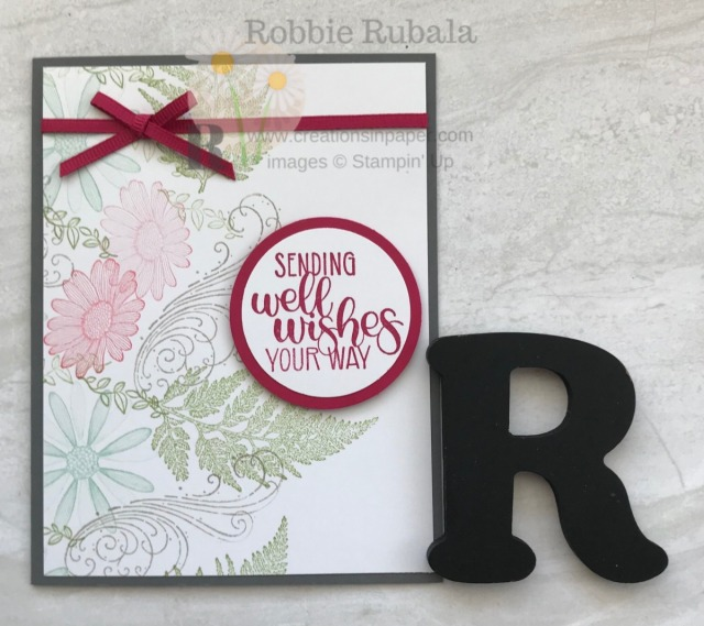 Here is an All Occasion card idea that uses the One Sheet Wonder technique. Get the details and see the sheet I created to make The Last One Sheet Wonder Idea.