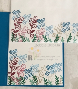 This collage idea made a great card front. Check out the Love What You Do A Little Note creation to see the card front.