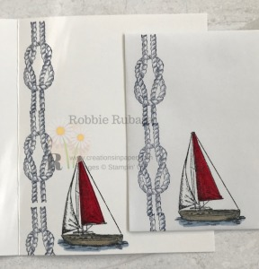 These images are part of a great masculine bundle. This bundle makes some great masculine cards. Get the details for my 10 Minute Sailing Home creation.