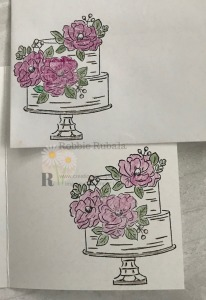 Isn't this a pretty image? It makes a great card. Check out the Clean and Simple Feminine Card to see how it was used.