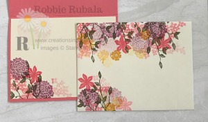 These clusters of flowers make a great card front. Don't miss the One Sheet Wonder in Very Vanilla idea.