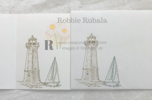 These images make a great masculine card with a torn paper background. Don't miss the details for the Fast and Fabulous Masculine Idea.