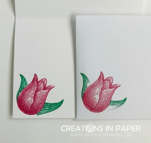 This cute image is great for a clean and simple card. Check out the video that shows how I created the 10 Minute Timeless Tulips card.