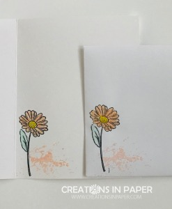 I love daisies and love stamping with them. This cute image makes the perfect Grapefruit Grove Friend. Check out the clean and simple card.