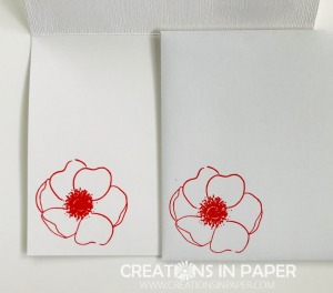 This pretty poppy makes great cards. Check out the 10 Minute Poppy Hello for one idea.