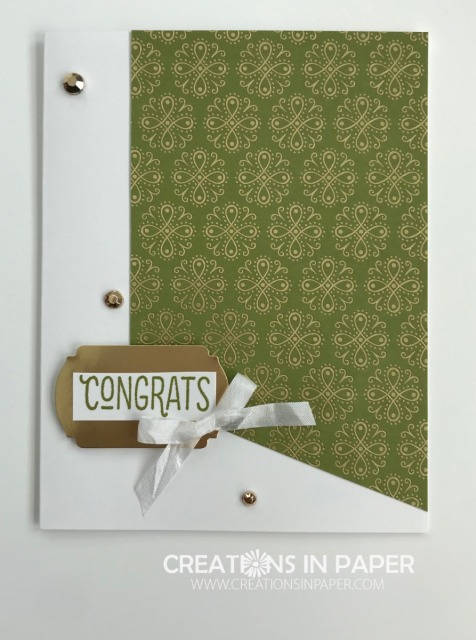 Do you need a card for a birthday, retirement, or wedding? See the deatails for the Ornate Garden DSP Focus Week idea.