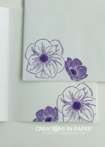 These purple posies are perfect for an all occasion card. Check out the Purple Posy Floral Essence card to see how I used these images.