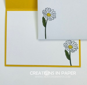 This daisy is the perfect image for many all occasion cards. Check out the Fancy Fold from NC Demo Group to see how it was used.