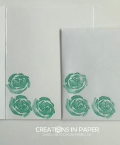 This fun rose image makes a gorgeous panel for the Stampin' Up Beautiful Friendship card. Learn how I made it by checking out the video.