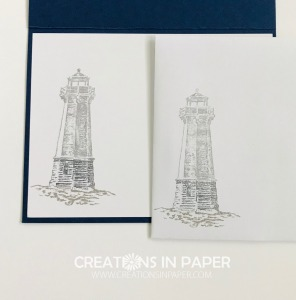 I love playing with this lighthouse image. Check out how I used it for my Seaside Lighthouse Beach Inspiration creation.