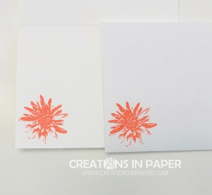 This cute flower makes the perfect addition for the Positive Thoughts with Greenery Embossing Folder. Get the details and a couple of tips!