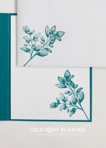 I love how this image stamps. So much detail makes it interesting. Get the details and watch the video for the Forever Fern from Stampin' Up.