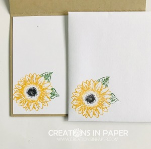 This cute image is easy to color with markers. Order the supplies from my online store to make your Celebrate Sunflowers Happy Thanksgiving card.