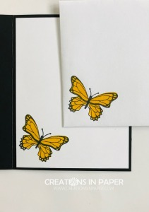 This cute butterfly along with circles makes a great card. Watch the video for the Butterfly Gala with Circles creation so you can make this card for yourself.