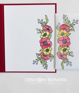 Isn't this a great image to color? I love the technique I used on the coloring to get a soft clean coverage on the Bloom and Grow Glycerin Coloring card.