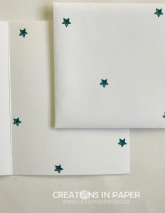 Stars are the theme for the card today. There is an adorable star spray used on the card front. Watch the video for the Cute Stampin' Up My Friend Card to see all the details.