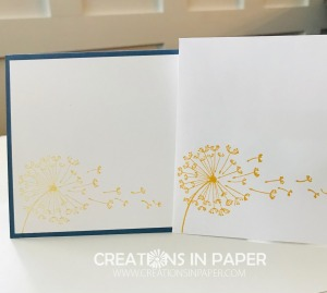 This dandelion from current product pairs well with some soon to be released product. Watch the Stampin' Up Dandy Garden True Friend video to see what products I used and let me know if you want to order the new items when they are released.