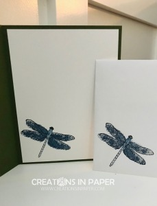 Do you love dragonflies? This great image is the perfect accent for my Handmade Dragonfly Card. Check out the video to see how I created this fun card.