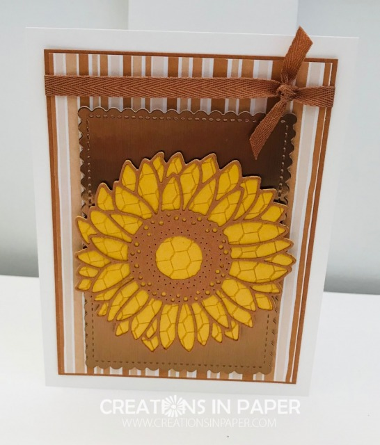 Want to see a fun way to Use Your Background Stamps to Add Texture to Your Flowers? Check out the video that shows you how.