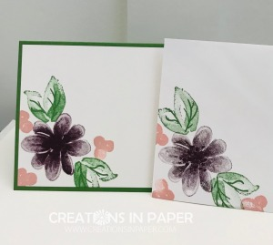 This great flower cluster makes the perfect Gorgeous Posies Feminine Birthday Idea. See the card front and watch the video to make your version. Click the photo.