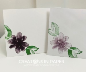 These simple images are perfect for quick and easy cards. See how I used them on the Gorgeous Posies Birthday Wishes card so you can make your version.