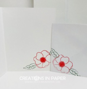These cute flowers are the perfect element for my card. I shared a video for the Have You Tried the Splatter Technique? card so check it out to see all the details.