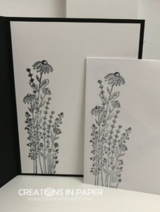 This image is perfect for creating a quick card. It can stand alone or be used to create a panel down the side of your card. Check out the Stampin' Up Dragonfly Garden idea and order the supplies to make your version.