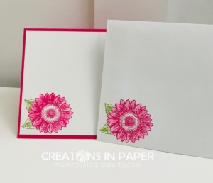 This flower was combined with a die collection for a great Die Cut Shapes for Card Making idea.