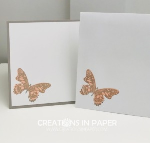 This beautiful butterfly pairs with the Peony Garden dsp to a great lady's card. Check out the video for the Birthday Card Idea Using Ornate Layers Dies.