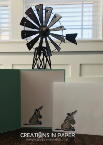 That adorable donkey makes the cutest Peekaboo card. Check out the Stampin' Up Darling Donkeys idea to see how I used it.