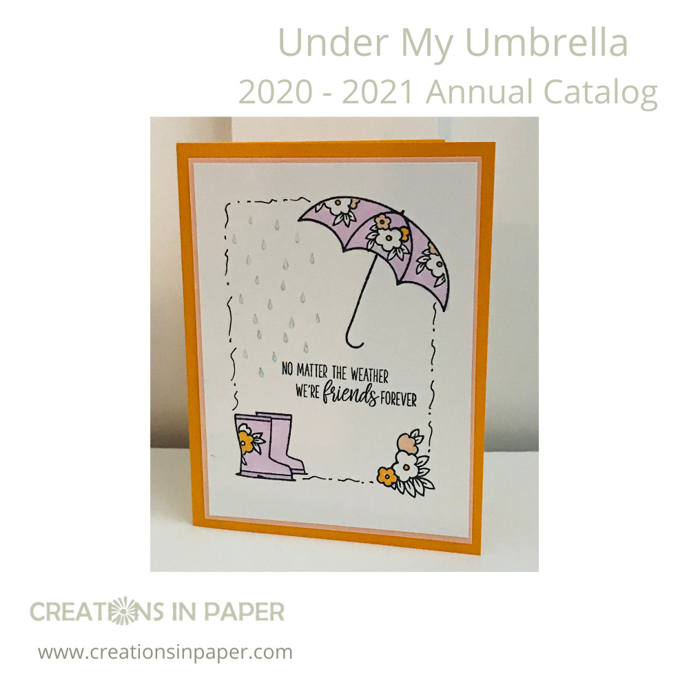 Isn't this the cutest one layer card? There is a video showing How to Make a Handmade Friendship Card on my blog. Check it out and trying some doodling yourself.