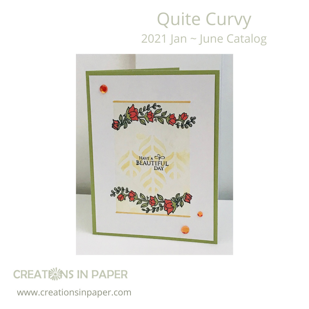 Don't you love the subtle background on this card? The Blending Brushes for Card Making are perfect to create this look. See all the details for making this card.