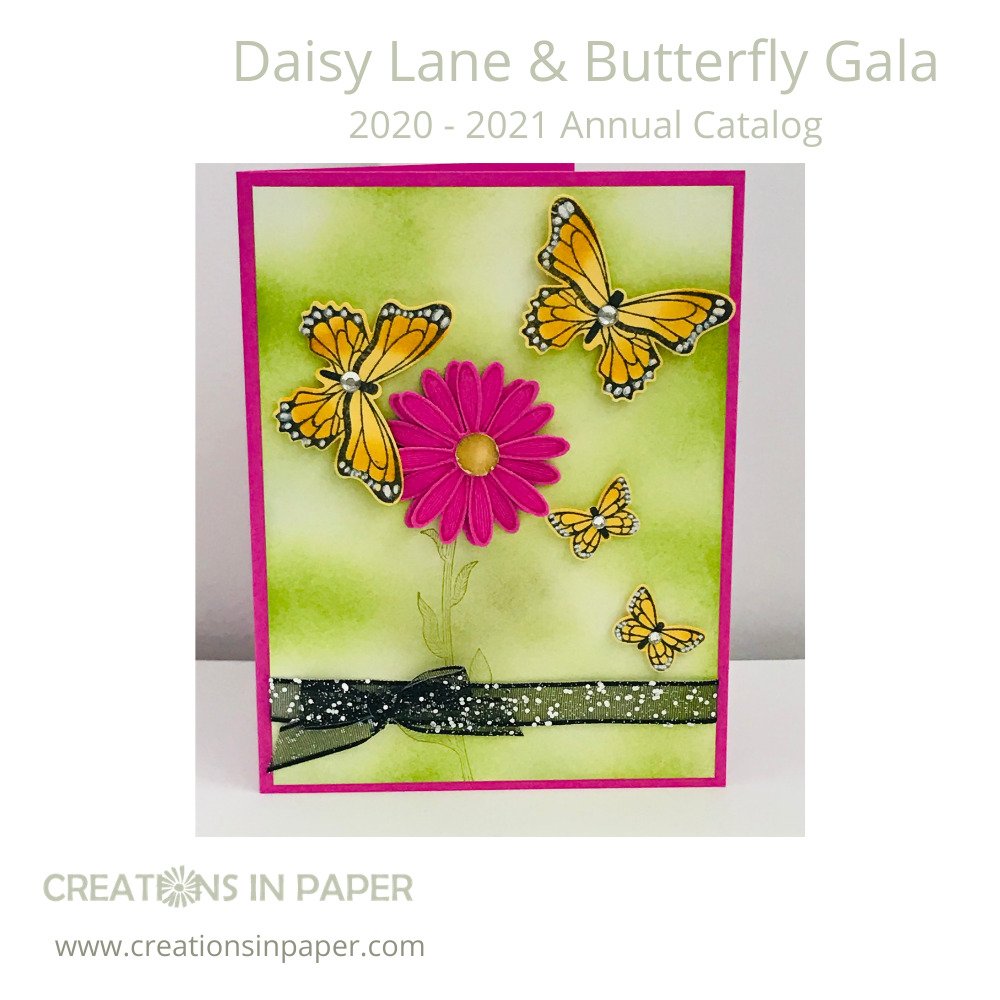 Spring Card Making uses bright bold and soft colors. Those colors make beautiful backgrounds as in this card. Get the details and measurements for today's card on my blog.