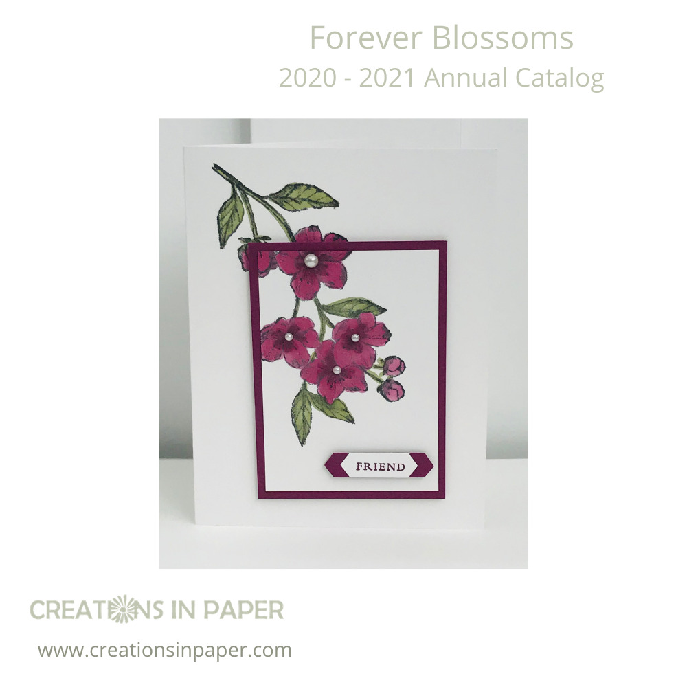 Aren't these blossoms so pretty. I did some Quick and Easy Coloring with Alcohol Markers to make them. Watch the video to see how easy it is.