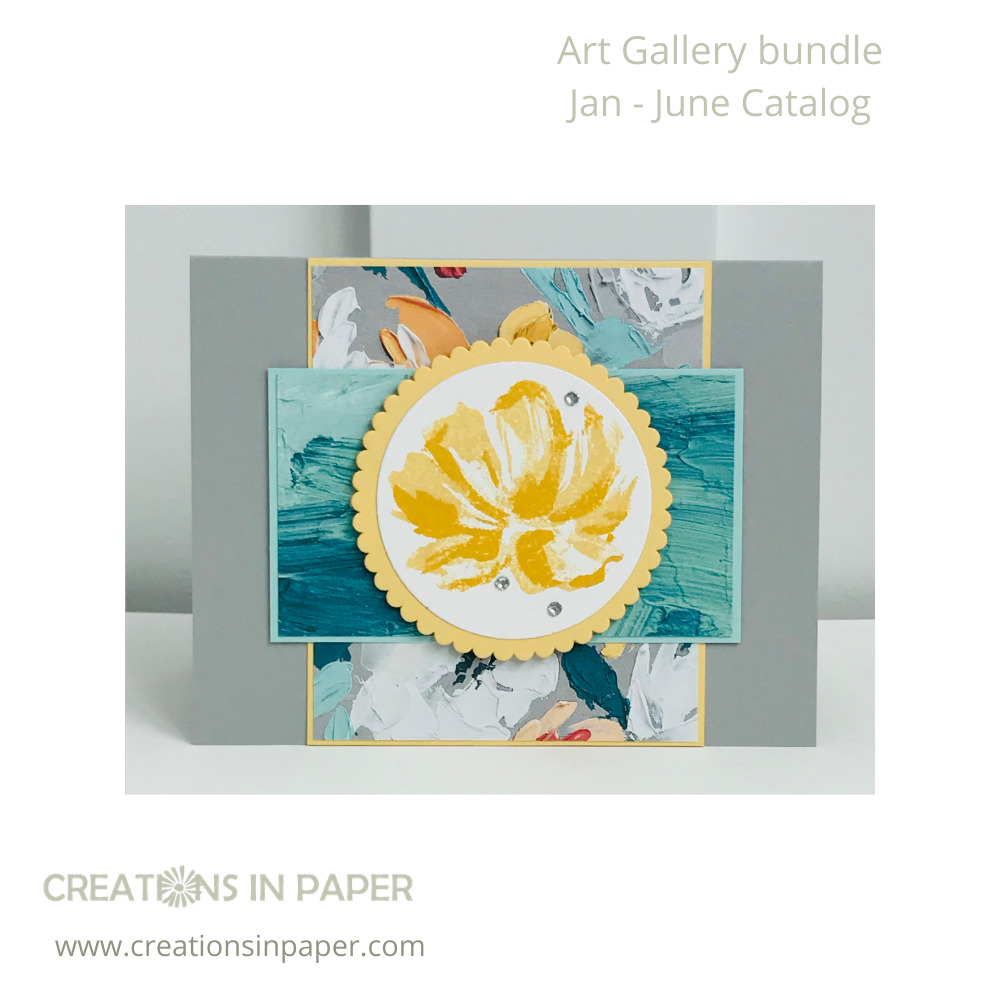 Look at how the pretty paper is perfect to use for Patterned Paper for Card Making. Check out all the details to create this card.