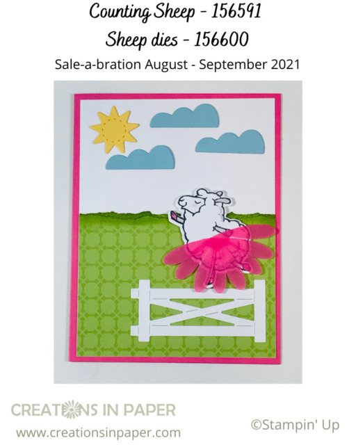 Do you know a young girl who would love this card?  I just love the tutu and the fact that she is walking the fence like a balance beam.  See all the supplies for this cute homemade card idea.